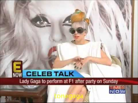 Lady gaga Indian Interview 2011 Marry The Night ! (Full video)