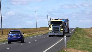 Toowoomba Australia  city photos : Big Rig Australian Trucks near Toowoomba - Queensland