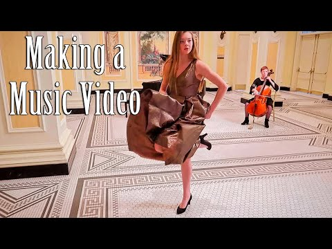 Making a Music Video | Behind the Scenes with Whitney Bjerken