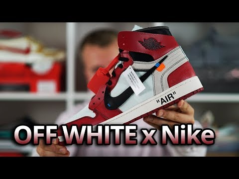 OFF White x Nike Air Jordan 1 HONEST Review & Unboxing Virgil Abloh The Ten