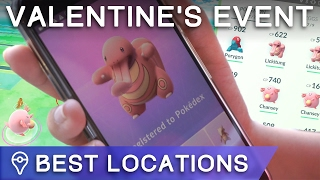 BEST PLACE FOR RARE VALENTINE'S EVENT SPAWNS IN POKÉMON GO? by Trainer Tips