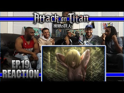CAPTURED!! ATTACK ON TITAN EP.19 REACTION/REVIEW