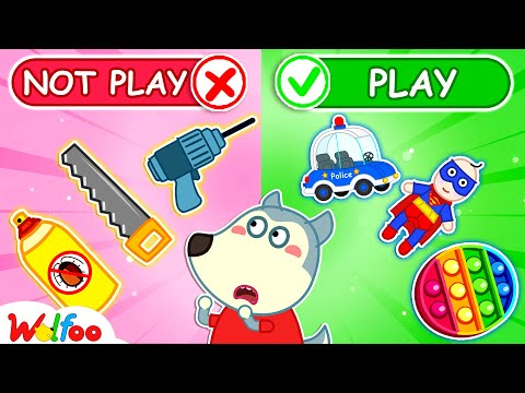 No No, Wolfoo! It's Not Toys - Watch Out for Dangers! - Learn Safety Tips for Kids   Wolfoo Channel