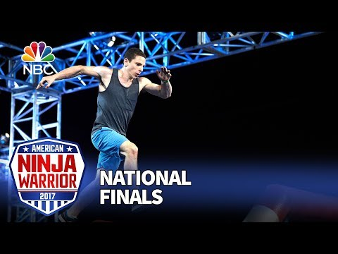 Josh Levin at the Las Vegas National Finals: Stage 1 - American Ninja Warrior 2017