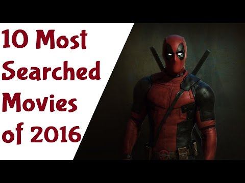 10 Most Searched Movies of 2016 (Google Trends)