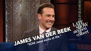 Video James Van Der Beek Explains Diplo To Stephen MP3, 3GP, MP4, WEBM, AVI, FLV Juli 2018