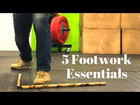 5 Footwork Essentials for Kali (AKA Filipino Martial Arts)
