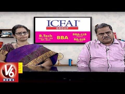 Career Point | Choosing BBA LLB Courses | ICFAI University l V6 News