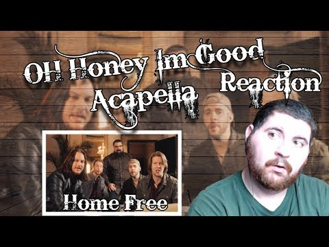 They're So good! | Reaction | Home Free - Honey I'm Good Acapella Cover