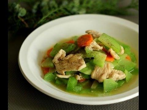 Đánh bay nồi cơm với gà xào su su ngon tuyệt hảo