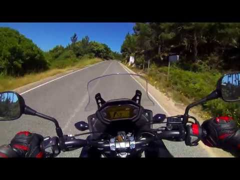 Honda CB500X Review & Testdrive (part1)