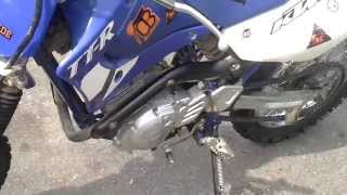 9. How to change the oil on TTR125