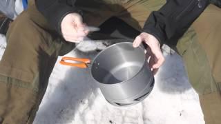 Котелок с крышкой и теплообменником Fire-Maple Feast K2