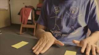 阿夾魔術教室 三張牌 心靈魔術 (重拍詳細版)