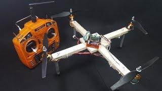 Hôm nay chúng ta sẽ cùng chế Quadcopter 350 Brushless với gỗ balsa.List đồ để các bạn có thể làm- Bộ TX RX DSM2 : https://goo.gl/LvdHBr- ESC 30A : https://goo.gl/7pFGhY- Motor 2212 1400kv : https://goo.gl/Vo9Yc1- Bộ Cánh 8045 thuận nghịch : https://goo.gl/ZDvADZ- Pin : https://goo.gl/YA7ywG- Và mạch KK 2.1.5, Gỗ Balsa 6mmKênh Sáng Tạo .COM Chúc các bạn thành công !!!