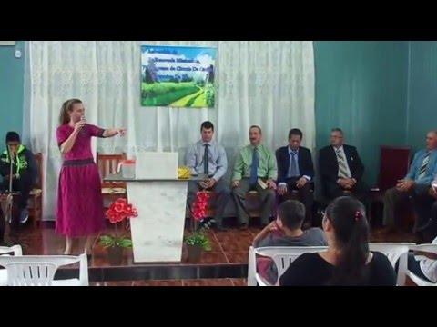 Pregadora Rosane Paim(Em CIRÍACO-Rs) Igreja Renovada Missionária.