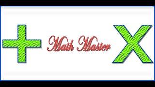 Math Master YouTube video
