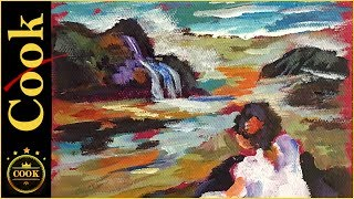 Discover the value of of a bright magenta canvas before layering on blocks of dark purples, turquoise blues, oranges, and soft whites with bold easy to learn brush strokes in this charming impressionist's style acrylic painting.  Originally painted by a famous Spanish artist Sorolla y Bastida in 1903, Ginger Cook shows how to take a 6x8 canvas and masterfully recreate this charming scene of a  young girl by the sea shore. Reference photos are available on our website:https://gingercooklive.gallery/yt-color-mixing-girl-seaPlease SUBSCRIBE to this channel to show your support and to stay informed about new releases and live broadcasts. Be sure to TURN ON the alarm under the little bell. Being the GOLD STANDARD in acrylic painting tutorials, Ginger Cook will be exploring the Fine Art of Acrylic Painting by offering tips and tricks to help you with your own acrylic paintings. During her live broadcasts, Ginger will be taking questions and may demonstrate the answer when possible. Learn more about acrylic painting lessons:WEBSITE: https://gingercooklive.galleryPINTEREST: https://gingercooklive.gallery/yt-pinterestFACEBOOK: https://gingercooklive.gallery/yt-facebookNEWSLETTER & FORUM SIGN UP FORM: https://gingercooklive.gallery/yt-newsletter-forum Contact Information:Website: https://gingercooklive.gallery/contact-us/