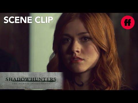 Shadowhunters   Season 3, Episode 7: Clary, Alec, & Lzzy Visit Imogen   Freeform