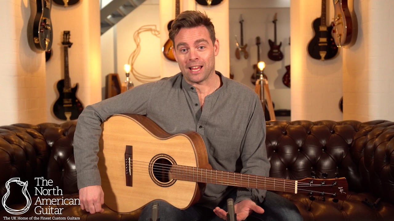 Andrew White Freja 1020 Acoustic Guitar – Presented by Ben Montague