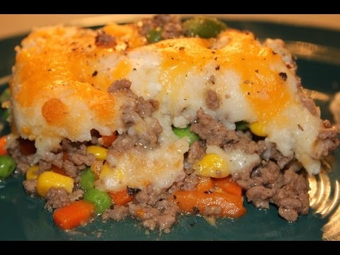 Shepherds Pie - How to Make Shepherd's Pie
