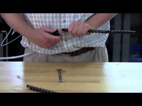 Installing Coax Nozzles & Splicer Pins