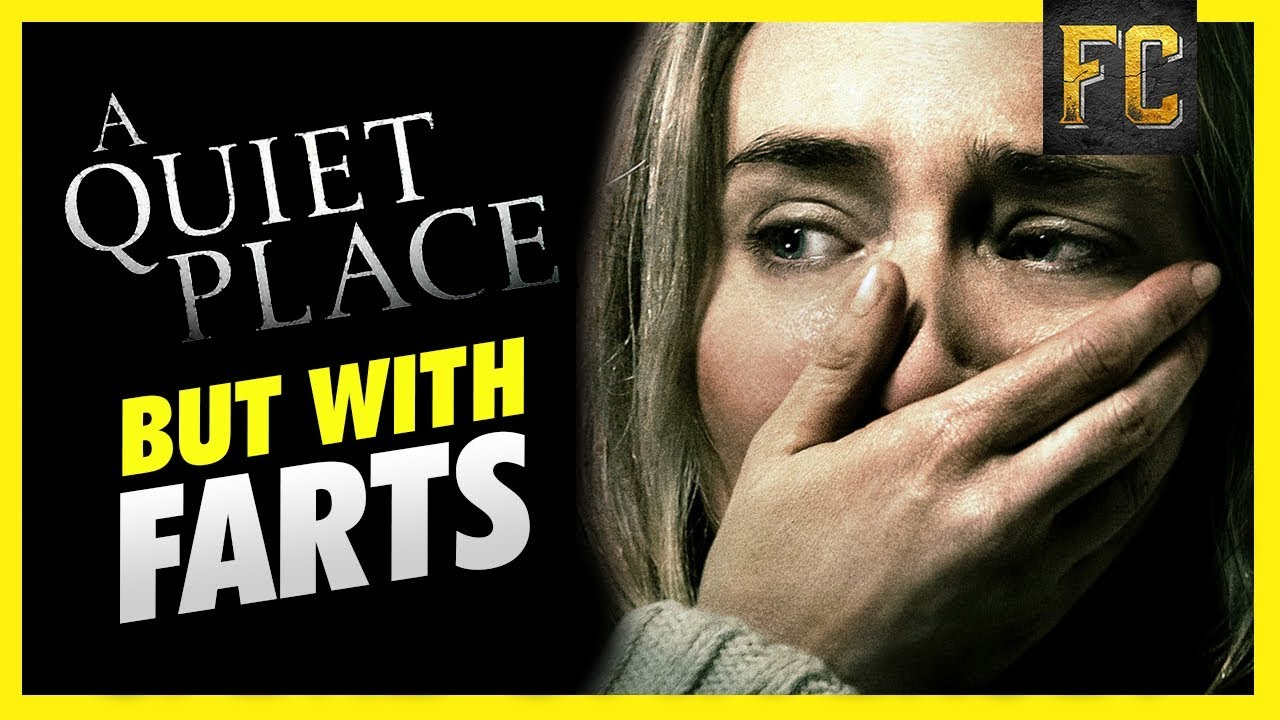A Quiet Place Trailer Parody | What if You Fart in A Quiet Place? | Flick Connection