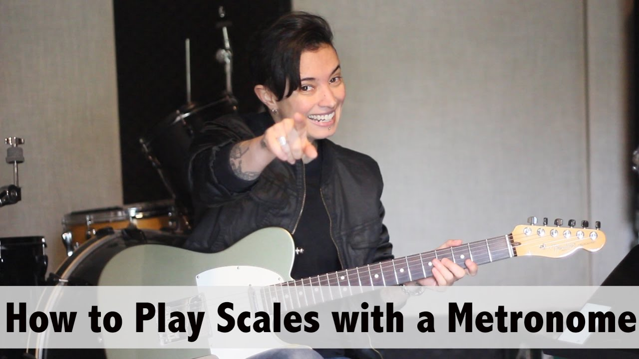 Guitar Tips & Tricks #21:  How to Play Scales with a  Metronome – Jen Trani