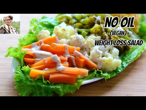 Weight Loss Boiled Vegetable Salad Recipe For Dinner - Diet Plan To Lose Weight Fast -Skinny Recipes