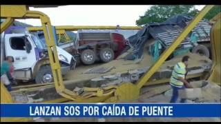 MIEDO AL DESABASTECIMIENTO TRASNOCHA A CASANARE TRAS CAÍDA DEL PUENTE