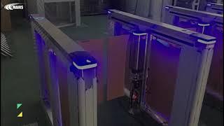 SWING FASTLANE TURNSTILES GATE MT355 youtube video