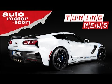 Geiger Corvette Z06 Carbon 65 Edition: Happy Birthday ...