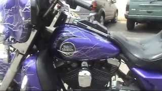 7. Auto Trim DESIGN - Lightning and Flame Graphic Wrap Kit - 1991 Harley-Davidson Ultra Classic