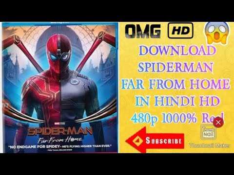 How to download Spiderman far from home in Hindi 480p or 720
