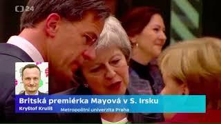 Britská premiérka Mayová v Severním Irsku
