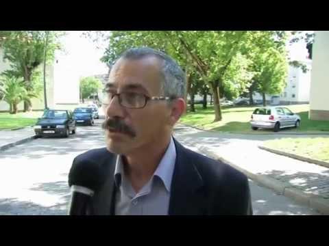 Rui Moreira no Bairro Dr. Nuno Pinheiro Torres em campanha