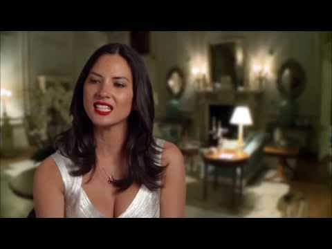 "Mortdecai: Olivia Munn ""Georgina"" Behind the Scenes Movie Interview"