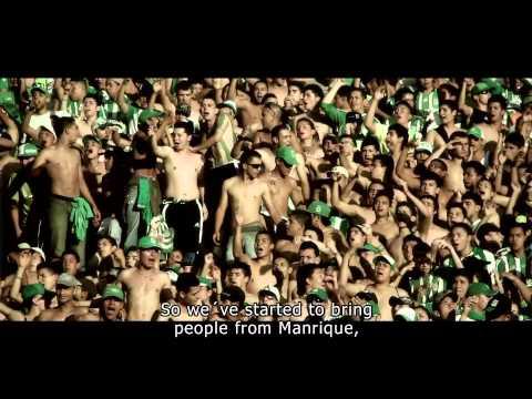 Documental barra Los Del Sur 15 años, La vida por esta Pasión con subtitulos en inglés. - Los del Sur - Atlético Nacional - Colombia - América del Sur