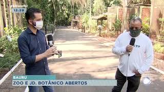 Zoológico e Jardim Botânico reabrem para visitantes em Bauru