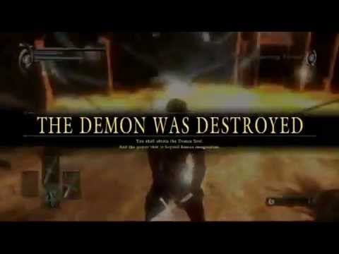 Demon's Soul's Walkthrough - Dragon God Boss Fight