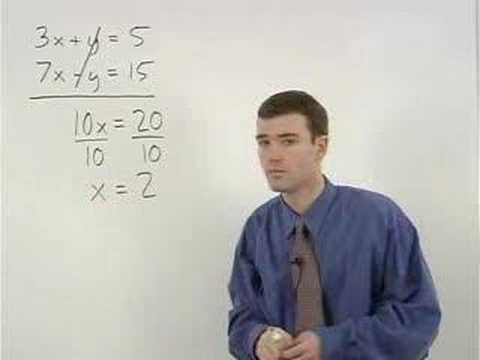 Systems of Equations Video