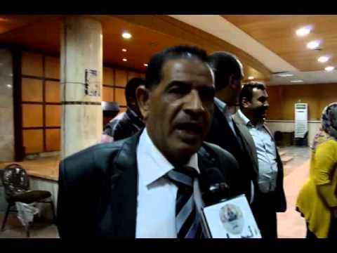 احمد فوزي حجازي يقدم اوراق ترشحه علي المستوى العام