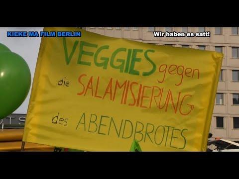 Berlin 2015: Wir haben es satt! Großdemonstration in Be ...