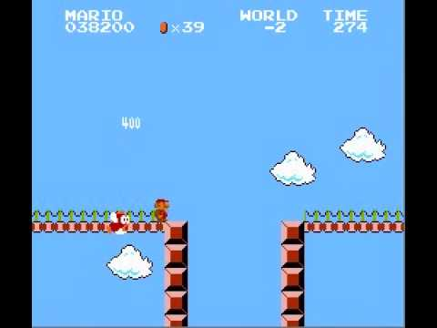 Super Mario Bros. - Minus World - Famicom Disk System Style (видео)