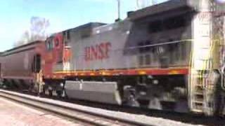 Flagstaff (AZ) United States  City new picture : Two BNSF Monster Freight Trains Meeting In Flagstaff, Arizona, USA