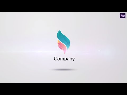 After Effects Tutorial: Make Clean Elegant Logo Reveal Animation In After Effects