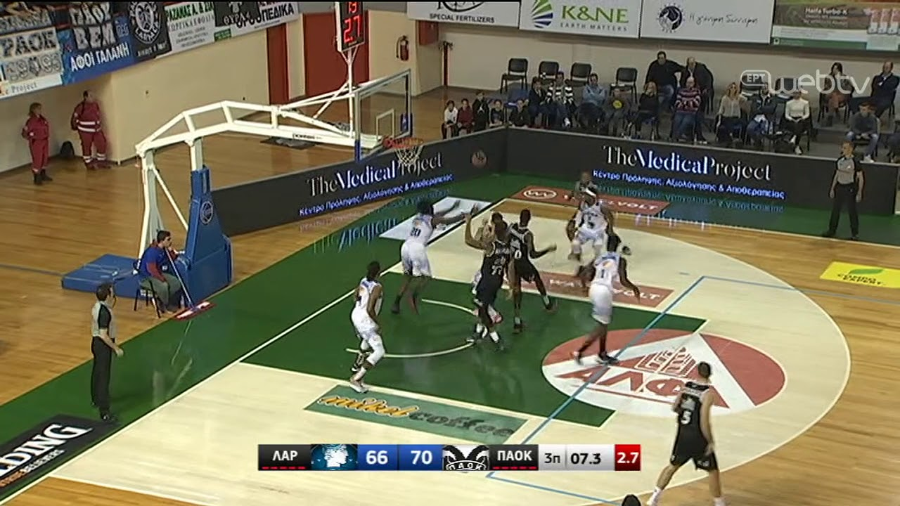 Basket League 2019-2020: ΛΑΡΙΣΑ – ΠΑΟΚ | HIGHLIGHTS | 11/01/2020 | ΕΡΤ
