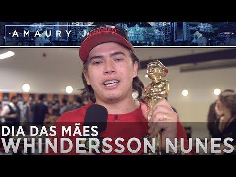 Whindersson Nunes manda recado para sua mãe