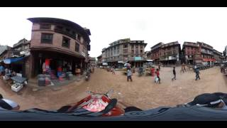 Bhaktapur Nepal  city pictures gallery : Bhaktapur, Nepal, May 2016, 360 video