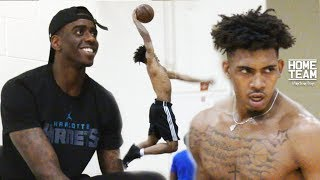 Charlotte Hornets Rookie Dwayne Bacon, Corey Sanders and Polk County's finest come out for open runs at SEU in Lakeland, FL